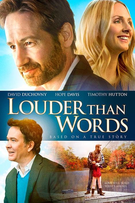 دانلود فیلم گویاتر از کلام Louder Than Words 2013 با دوبله فارسی و زیرنویس فارسی