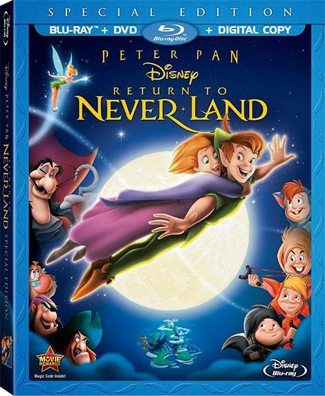 دانلود انیمیشن بازگشت به ناکجا آباد Return to Never Land 2002 با دوبله فارسی و زیرنویس فارسی