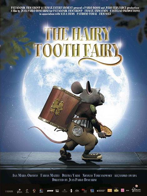 دانلود انیمیشن پرز موش دندون بچه ها The Hairy Tooth Fairy 2006 با دوبله فارسی