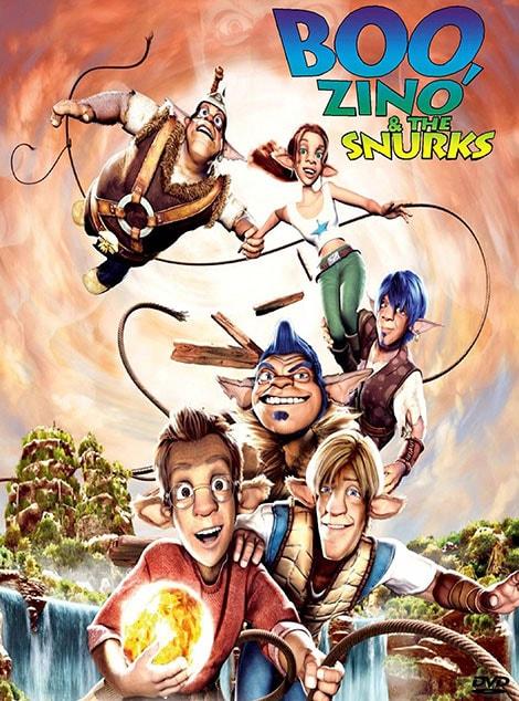 دانلود انیمیشن بو، زینو و اسنورک ها Boo Zino & the Snurks 2004 با دوبله فارسی