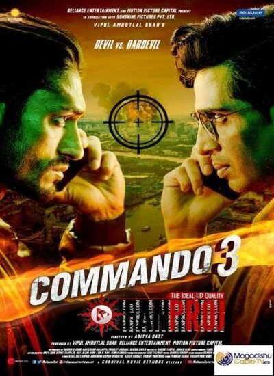 دانلود فیلم کماندو 3 Commando 3 2019 با زیرنویس فارسی