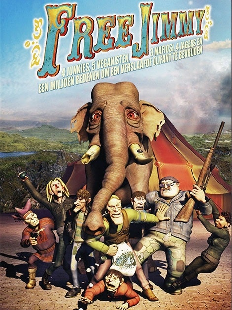 دانلود انیمیشن آزادی جیمی Free Jimmy 2006 با زیرنویس فارسی