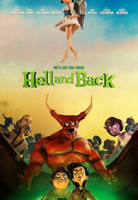 دانلود انیمیشن Hell and Back 2015 با دوبله فارسی و زیرنویس فارسی