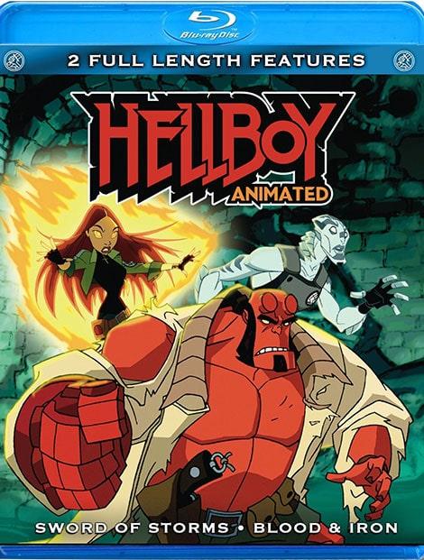 دانلود انیمیشن پسر جهنمی: شمشیر طوفان Hellboy Animated: Sword of Storms 2006 با دوبله فارسی و زیرنویس فارسی