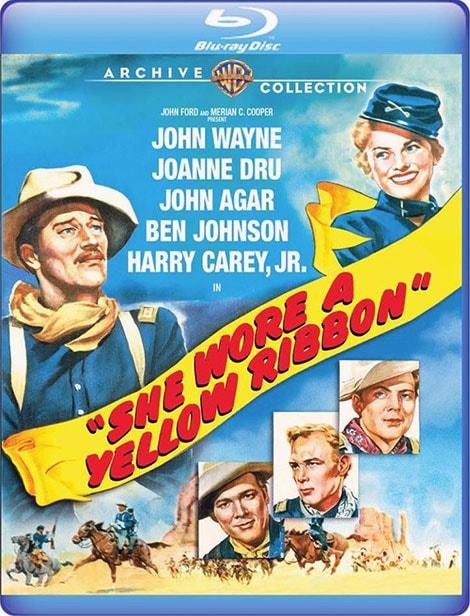دانلود فیلم دختری با روبان زرد She Wore a Yellow Ribbon 1949 با دوبله فارسی و زیرنویس فارسی