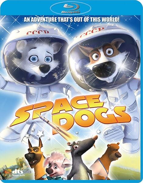 دانلود انیمیشن سگ های فضایی Space Dogs 2010 با دوبله فارسی