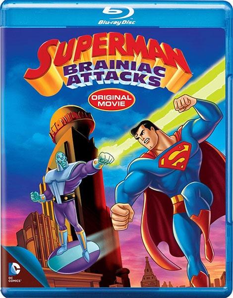 دانلود انیمیشن سوپرمن: حملات برینیاک Superman: Brainiac Attacks 2006 با زیرنویس فارسی