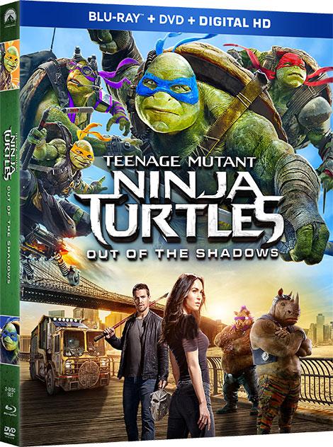 دانلود فیلم Teenage Mutant Ninja Turtles: Out of the Shadows 2016 با دوبله فارسی و زیرنویس فارسی