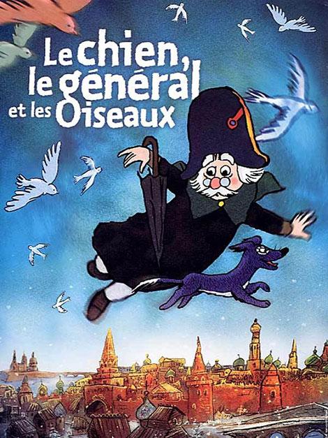 دانلود انیمیشن سگ، ژنرال و پرنده ها The Dog the General and the Birds 2003 با دوبله فارسی