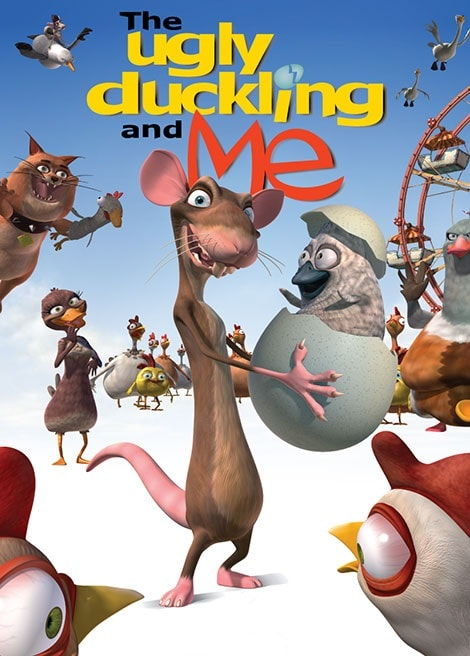 دانلود انیمیشن من و جوجه اردک زشت The Ugly Duckling and Me 2006 با دوبله فارسی
