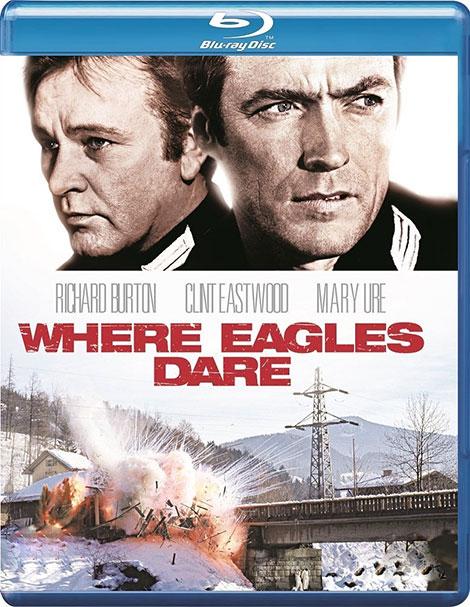 دانلود فیلم قلعه عقاب ها Where Eagles Dare 1968 با دوبله فارسی و زیرنویس فارسی