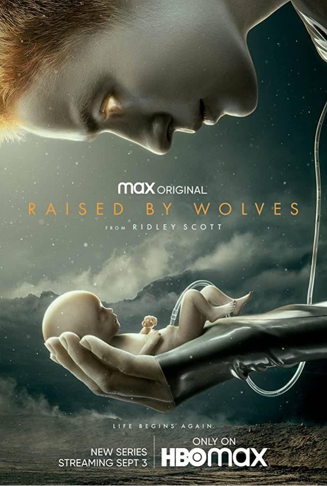 دانلود سریال بزرگ شده توسط گرگ ها Raised by Wolves 2020 با زیرنویس فارسی