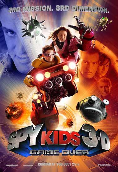 دانلود فیلم Spy Kids 3-D: Game Over بچه های جاسوس ۳ 2003 با دوبله فارسی