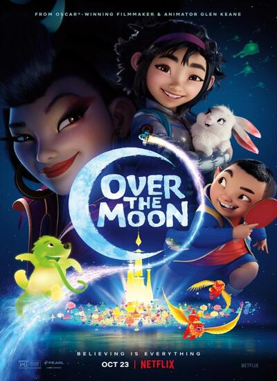 دانلود انیمیشن Over the Moon روی ماه 2020