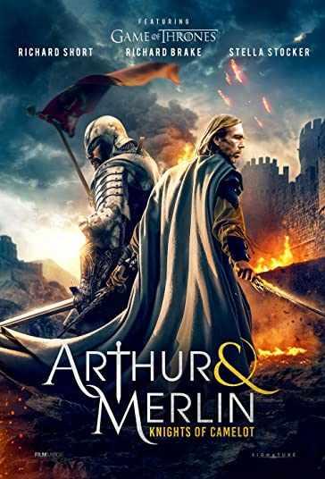 دانلود فیلم Arthur & Merlin Knights of Camelot آرتور و مرلین شوالیه های کملوت 2020 با دوبله فارسی