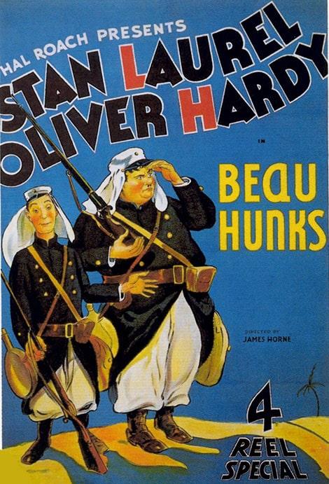 دانلود فیلم Beau Hunks دو سرباز 1931 با دوبله فارسی