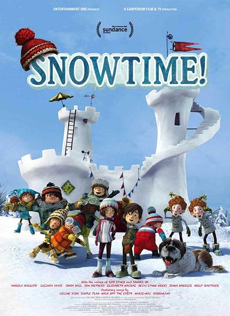دانلود انیمیشن Snowtime روز برفی 2015 با دوبله فارسی