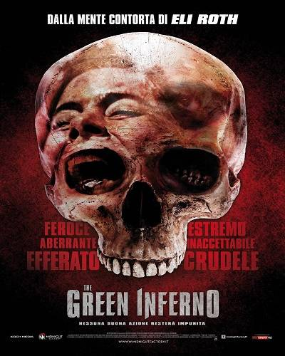 The Green Inferno 2015 Poster min