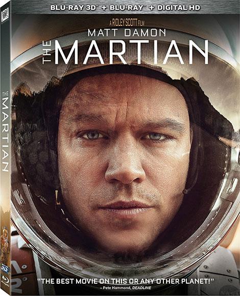 دانلود فیلم The Martian مریخی 2015 با دوبله فارسی