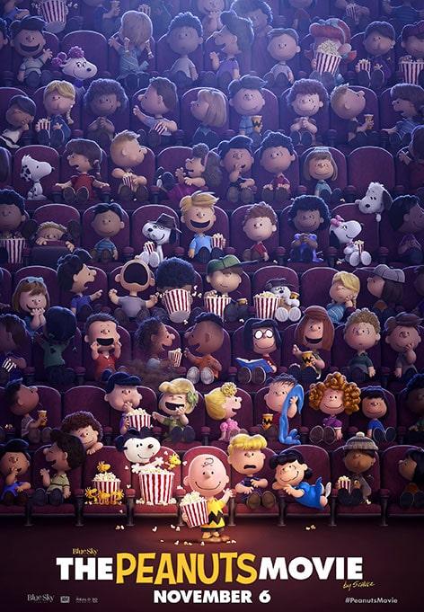 دانلود انیمیشن The Peanuts Movie بادام زمینی ها 2015 با دوبله فارسی