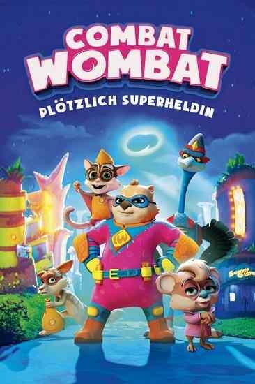 دانلود انیمیشن Combat Wombat وامبت سلحشور 2020 با دوبله فارسی