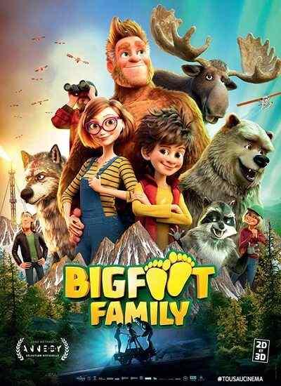 دانلود انیمیشن Bigfoot Family خانواده پاگنده 2020 با دوبله فارسی