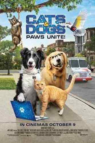 دانلود فیلم Cats & Dogs 3 Paws Unite گربه ها و سگها 3 پنجه ها متحد می شوند 2020 با دوبله فارسی