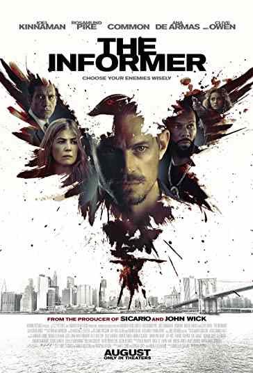 دانلود فیلم The Informer خبرچین 2019 با دوبله فارسی