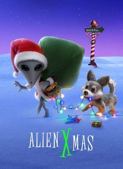 دانلود انیمیشن Alien Xmas کریسمس بیگانه 2020 با زیرنویس فارسی