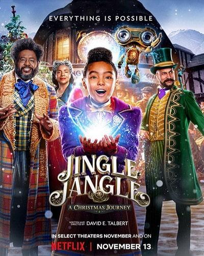 دانلود فیلم Jingle Jangle A Christmas Journey طنین جنگل داستان کریسمس 2020 با زیرنویس چسبیده فارسی