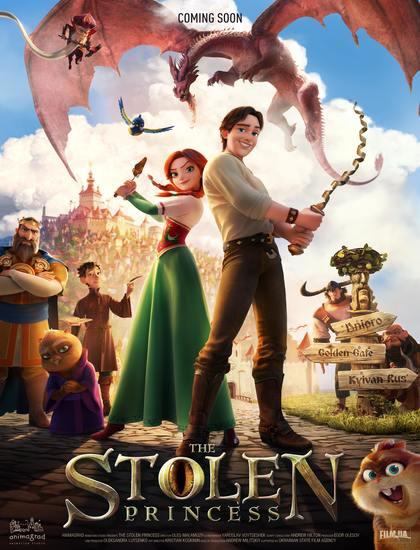 دانلود انیمیشن Stolen Princess: Ruslan And شاهزاده ربوده شده: روسلان و لودمیلا 2018 با دوبله فارسی