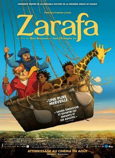 دانلود انیمیشن Zarafa زرافه 2012 با دوبله فارسی
