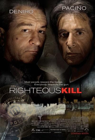 دانلود فیلم Righteous Kill قتل منصفانه 2008 با دوبله فارسی