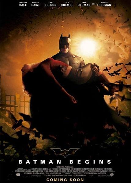 دانلود فیلم Batman Begins بتمن آغاز کرد 2005 با دوبله فارسی