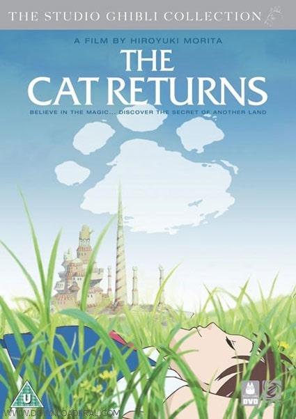 دانلود انیمیشن The Cat Returns بازگشت گربه 2002 با دوبله فارسی