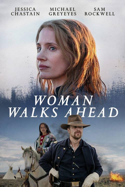 دانلود فیلم Woman Walks Ahead زن به پیش می رود 2017 با دوبله فارسی