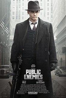 دانلود فیلم Public Enemies دشمنان ملت 2009 با دوبله فارسی