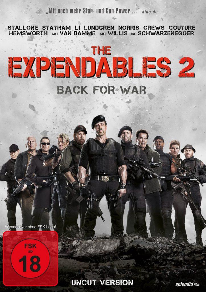دانلود فیلم The Expendables 2 بی مصرف ها 2 2012 با دوبله فارسی