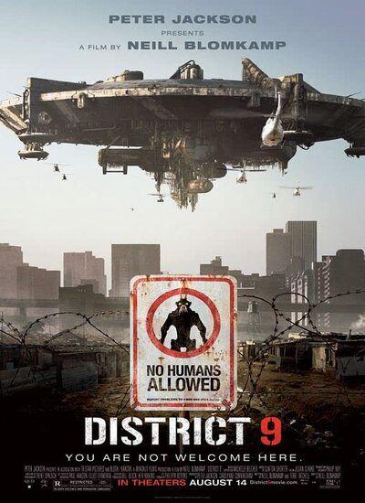 دانلود فیلم District 9 منطقه 9 2009 با دوبله فارسی