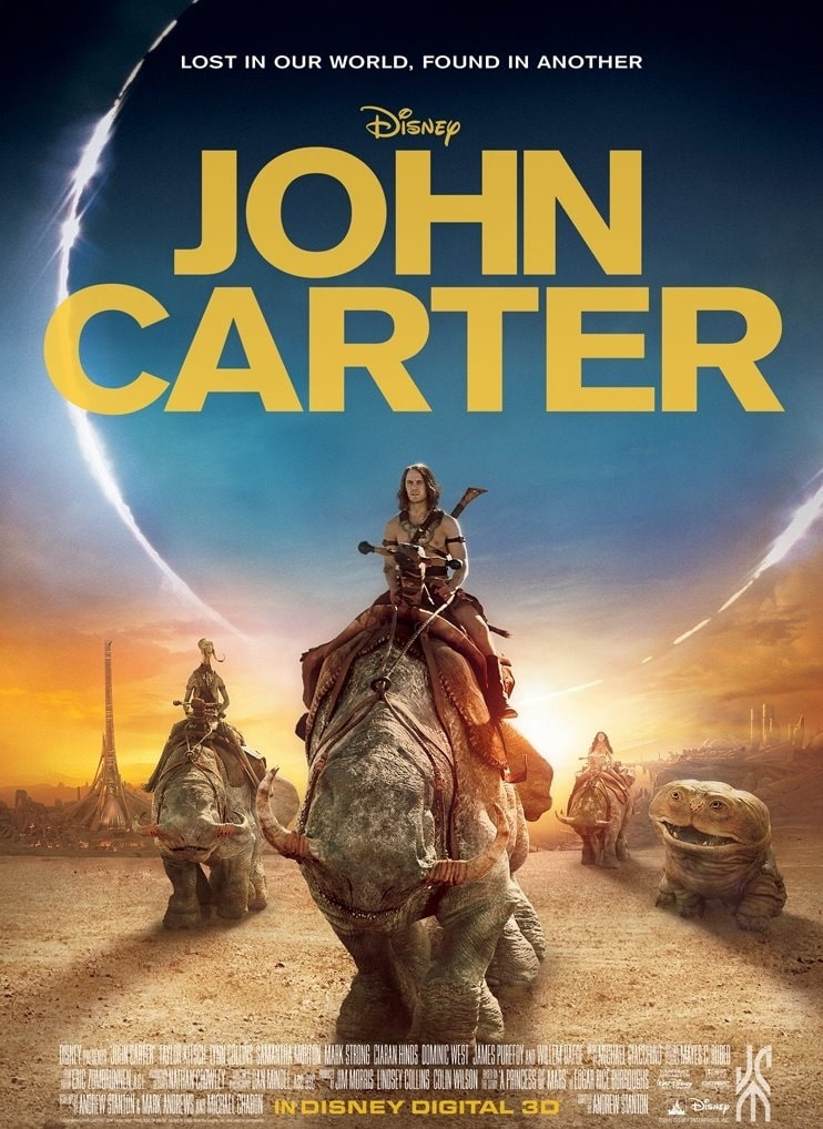 دانلود فیلم John Carter جان کارتر 2012 با دوبله فارسی