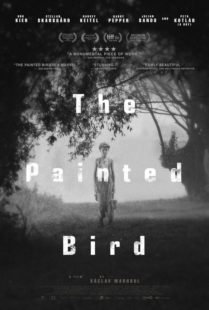دانلود فیلم The Painted Bird پرنده رنگین 2019 با دوبله فارسی