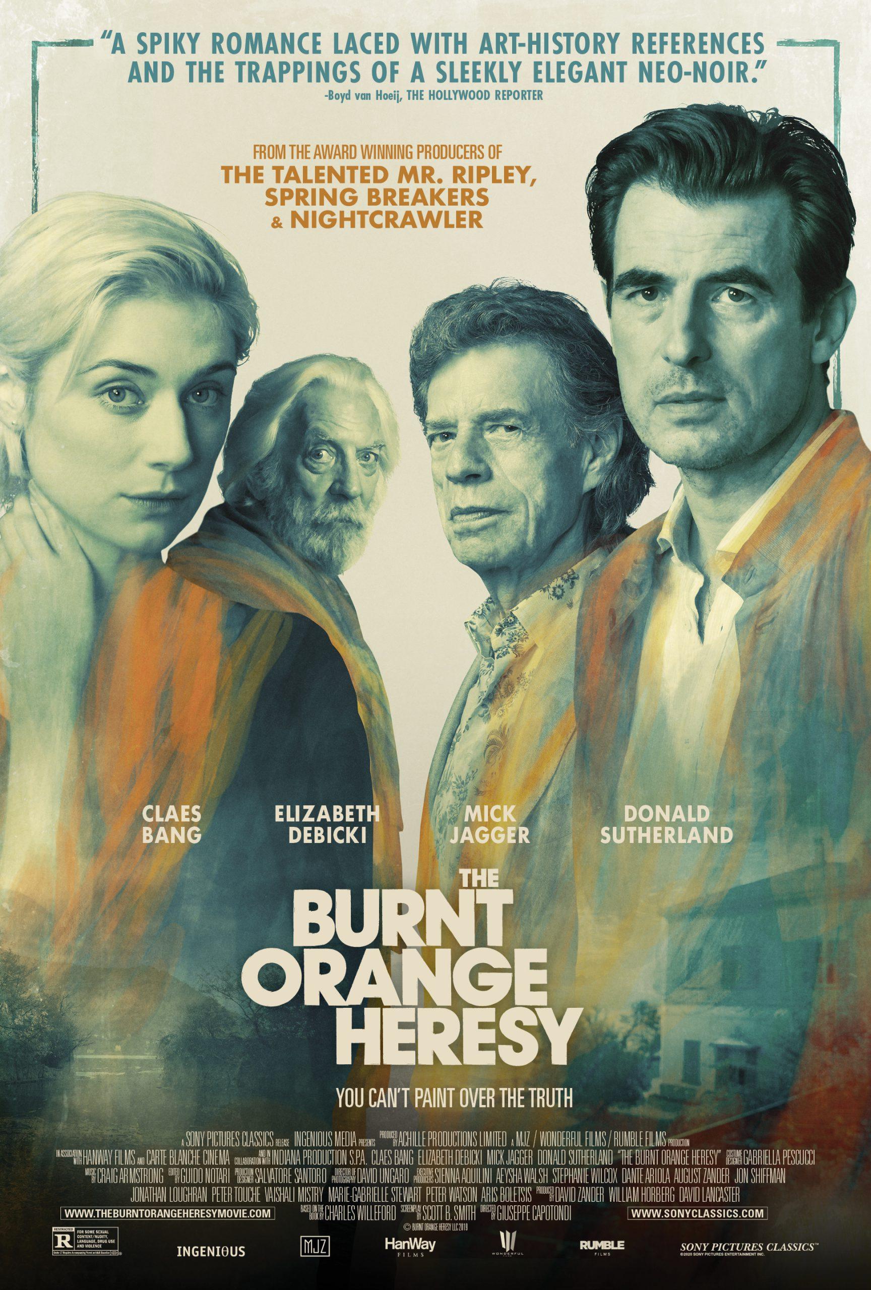 دانلود فیلم The Burnt Orange Heresy نارنجی سوخته 2019 با زیرنویس چسبیده فارسی