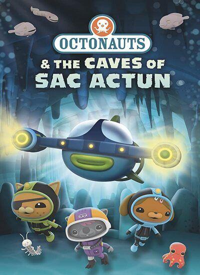 دانلود انیمیشن Octonauts and the Caves of Sac Actun اختانوردها در غار 2020 با دوبله فارسی