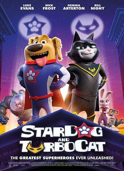 دانلود انیمیشن StarDog and TurboCat سگ ستاره ای و گربه ناقلا 2019 با دوبله فارسی