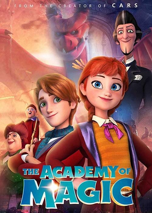 دانلود انیمیشن he Academy of Magic آکادمی جادویی 2020 با دوبله فارسی