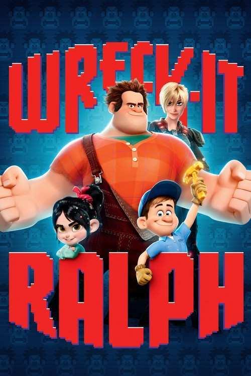 دانلود انیمیشن Wreck it Ralph رالف خرابکار 2012 با دوبله فارسی