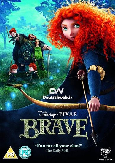 دانلود انیمیشن brave دلیر 2012 با دوبله فارسی