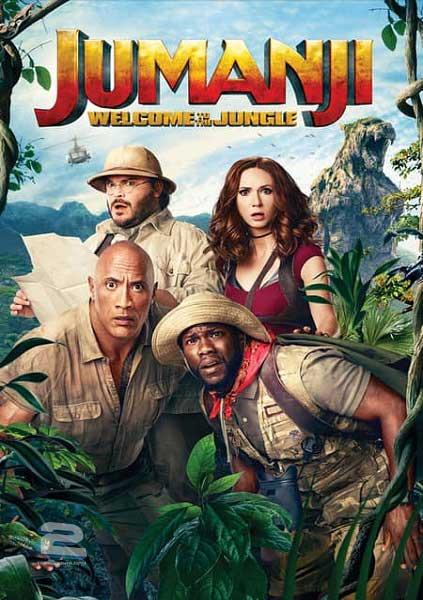 دانلود فیلم Jumanji: Welcome to the Jungle جومانجی: به جنگل خوش آمدید 2017 با زیرنویس فارسی