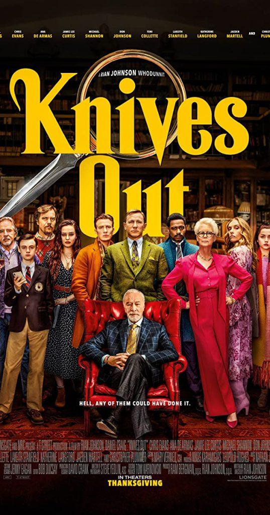 دانلود فیلم Knives Out چاقوهای تیز کرده 2019 با دوبله فارسی