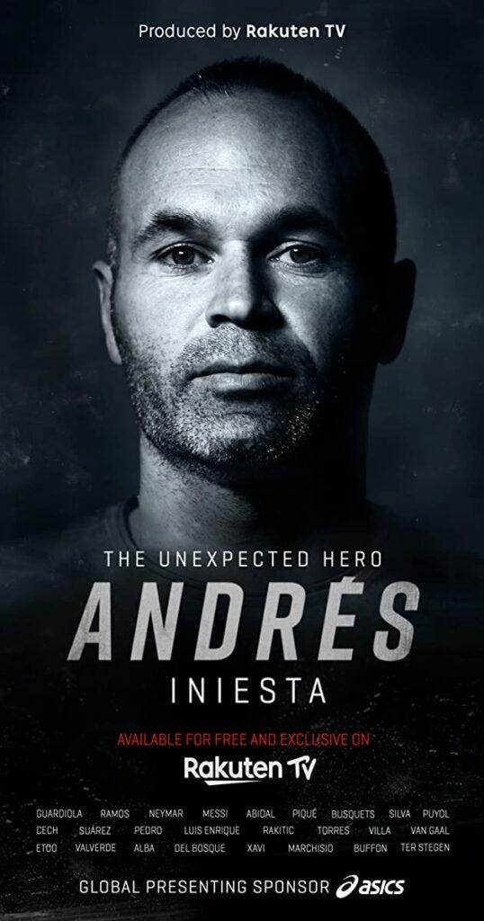 دانلود مستند Andrés Iniesta The Unexpected Hero اینیستا قهرمان غیر قابل تصور 2020 با زیرنویس فارسی